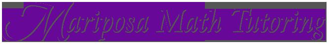Mariposa Math Tutoring